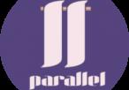 Isotipo parallel pequeño cortado arriba y abajo