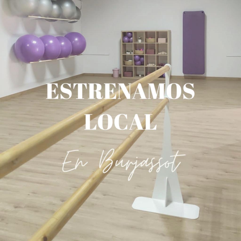 nuevo local para hacer pilates barre y ballet en burjassot